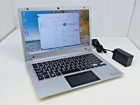 """EVOO EV-C-116-5 11.6"""" AMD A4-9120 Quad 2.5Ghz- 32GB SSD- W10 Thin Silver Laptop"""