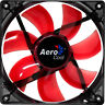 Aerocool 12CM 120mm LED Red Fins Fan Cooler Case PC Computer Cooling 3 and 4 Pin
