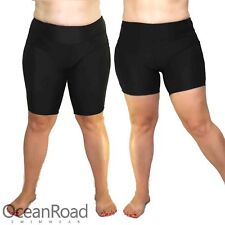Plus Size Boyleg, Knee Length Swim Leggings for Women Swimshorts Bottoms Trunks