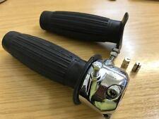 Norton Triumph T120 T140 doble tracción de cable 7/8 Twistgrip del Acelerador y Caucho 99-0347