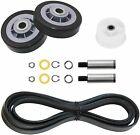 Maytag MDE5500AYW MDE4000AYW MDE6000AYW Dryer Roller Belt Pulley Repair Kit photo