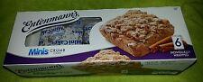Entenmann's Minis Crumb Cake (6 Individually Wrapped Mini Crumb Cakes) YUMMY!