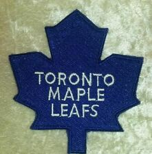 """Toronto Maple Leafs NHL Logo 3.5"""" Iron On Embroidered Patch ~USA Seller~"""