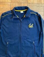 Vintage Columbia Sportswear Uc Berkeley Cal Blue Zip-Up Jacket Men's Sz L