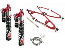 Lonestar +2 A-Arms Elka 3 Legacy Plus Rebound Front Shocks Suspension YFZ450 Rap