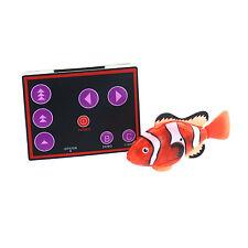 RC Remote Control Micro Nemo Clown Fish Mini Aquarium Robo Fish Water Activate