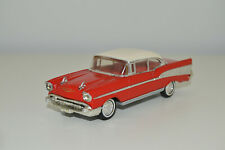 1:43 Chevrolet Bel Air Coupé 1957 DINKY Rot Red Rouge Matchbox DY-2 Modellauto