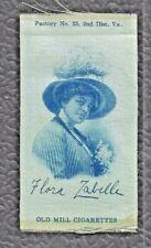 Flora Zabella Old Mill Cigarettes 1914 Silk