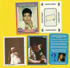 Aretha Franklin Fab Card Collection The Queen of Soul Amazing Grace American B