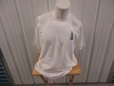 VINTAGE NAUTICA COMPETITION WHITE XL GRAPHIC LIGHT HOUSE LAGER WHITE SHIRT NWT