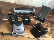 lot of (6) office paper hole punches - 2 & 3 hole