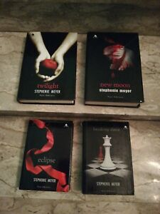 4 Libri S. Meyer Saga Completa Twilight new moon eclipse Breaking down fazi ed