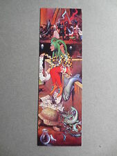 Bookmark WOLFGANG GRASSE Festival of Fools JESTER Painting German Artist Painter