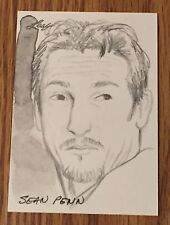 Sean Penn 2012 Leaf National Exclusive Sketch Card #1/1