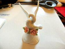 """2000 Graceful Doves Porcelain Bell """"Avon"""" New in Box"""