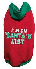 Palo De Rosa Navidad Navidad Con Capucha Santa's lista para perros grandes 42cm Disfraz