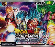 Dragonball Super Card Game Galactic Battle English sealed box 24 packs 12