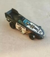Hot Wheels 1977 Black Roll Patrol Dragster Toy Car Rare 1/64 320