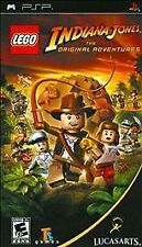 Lego Indiana Jones The Original Adventure - PSP -USED--GREAT CONDITION w/BOOKLET