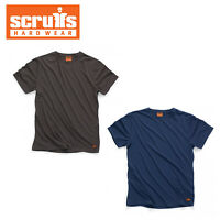 Scruffs WORKER T SHIRT Hardwearing Work Shirt S-XXL NAVY | GRAPHITE * 2019 RANGE