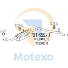 SCARICO MTS 01.65920 SUZUKI SAMURAI 1.3 4X4 64bhp 01/88 - 01/92