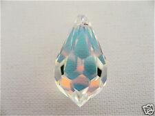 1 Crystal AB Swarovski Crystal Pendant Teardrop 6000 22mm
