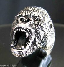 Sterling Silver .925 King Kong Ring RG34/S