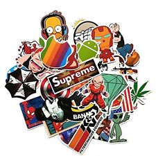ABOEL- (Pack of 100) Stickers Skateboard Vintage Vinyl Sticker Laptop Luggage...