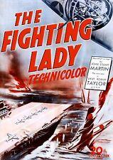 The Fighting Lady (1944) (DVD) Robert Taylor (Academy Award Winning WWII Doc)