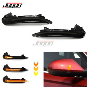 For Audi A6 C7 S6 12+ LED Side Wing Mirror Dynamic Blinker Turn Signal Indicator