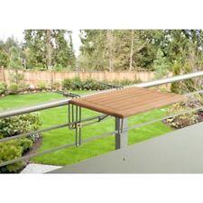 Balkontisch klappbar Hängetisch Balkonklapptisch Balkonhängetisch Massiv-Holz