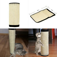 Sisal Cat Scratcher Board Kitten Scratching Post Pad Mat Toy Furniture Protector