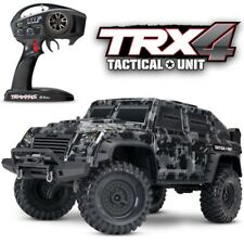 NEW Traxxas TRX-4 Tactical Unit Scale & Trail RC 4x4 Rock Crawler Truck FREE S/H