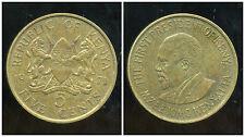 KENYA 5  cent 1971