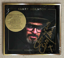 BARRY ADAMSON * MEMENTO MORI - ANTHOLOGY 1978-2018 * UK SIGNED 17 TRK CD * BN!