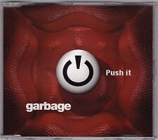 Garbage - Push It - CD (4 x Track 1998 Mushroom Australia)