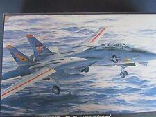 Hasegawa 1/48 Model Airplane Kit Grumman F14A Tomcat Pacific Fleet Squadrons P18