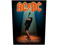 AC/DC let there be rock 2015 GIANT BACK PATCH  36 x 29 cms ANGUS Official BP1012