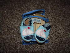 ROBEEZ 0-6 BLUE SAILBOAT SAIL BOAT LEATHER SHOES