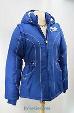 Indiana Colts blue NFL reebok womens puffer jacket full zip coat Vest Size M NEW