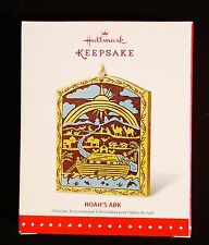 "Hallmark Keepsake "" Noah's Ark "" collectible Christmas ornament © 2015"