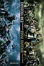 JAPAN Dissidia 012 Final Fantasy Postcard Book