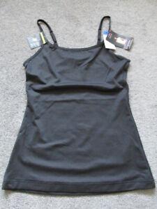 Maidenform  Camisole  Black  size XL Women's size 14-16  Nylon Blend  NWT