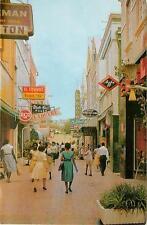 NA, Curacao, Heerenstraat Chrome Postcard
