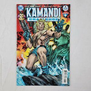 Kamandi Challenge #8 Jim Lee Regular Cover DC Comic Book July 2017 Jack Kirby