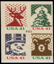 Holiday 2007 Knits 4211-14 4214 4214a Block 4 From Vending BK305 MNH - Buy Now