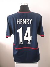 Thierry HENRY #14 Arsenal Away Football Shirt Jersey 2002/03 (XL)