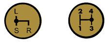 Aufkleber Label Sticker für Deutz Schaltschema D5506 Baureihe (1+2)