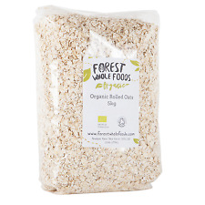 Biologique Roulé Porridge Avoine 5kg - Forest Whole Foods