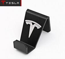 Seat Back Headrest Hanger Holder Luggage Hook Clip w/ Tesla Logo For Tesla S X